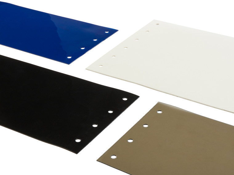 Colored & Tinted PVC Strip Door Replacement Strips