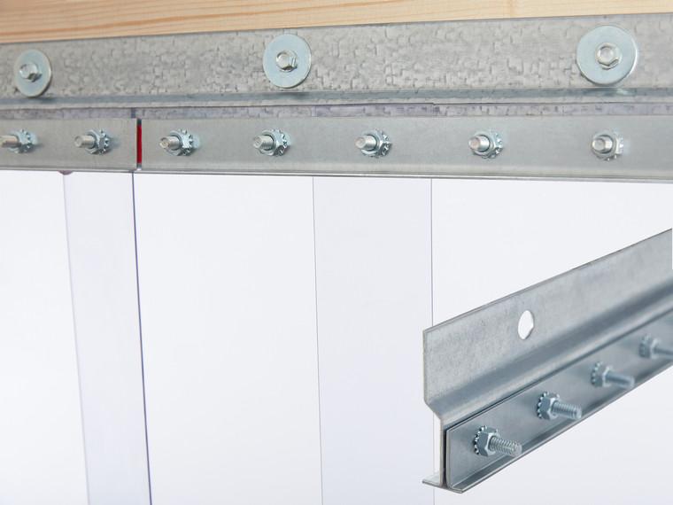 Standard Wall Mount Strip Door Kit