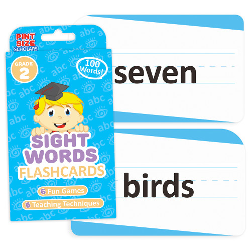 Sight Words Flashcards, Second Grade