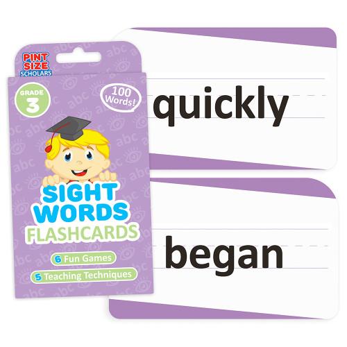 Sight Words Flashcards, Third Grade