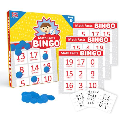Math Facts Bingo