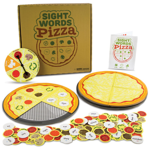 Sight Words Pizza Board Game | 120 Vocabulary Words Game