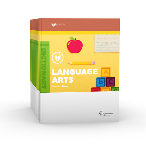 LIFEPAC 2nd Grade Language Arts 10-Unit Student Set ONLY