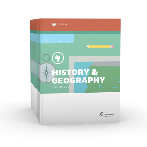 LIFEPAC 3rd Grade History & Geography 10-Unit Student Set ONLY
