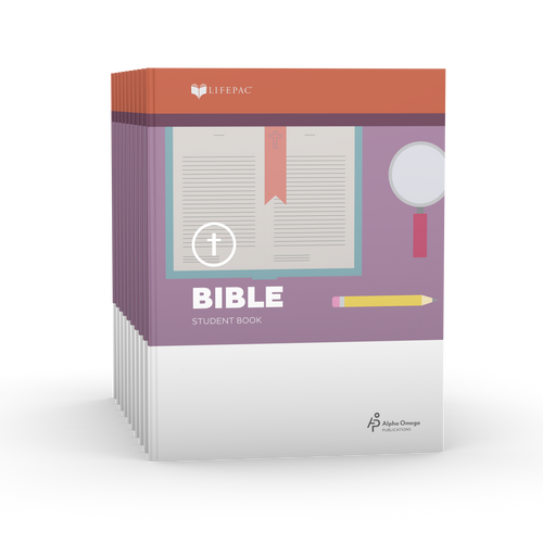 LIFEPAC 3rd Grade Bible 10-Unit Student Set ONLY