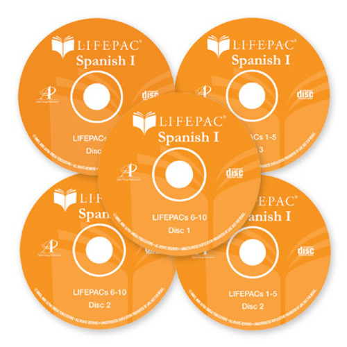 LIFEPAC Spanish I Complete Set with CDs