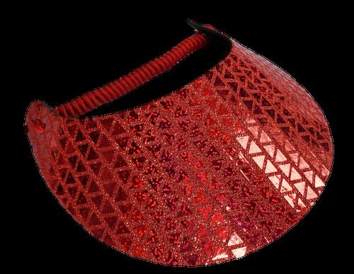 TRIANGLE GLITZ 8 (RED)