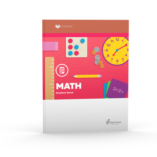 LIFEPAC 2nd Grade Math (BOOK 1 ONLY)