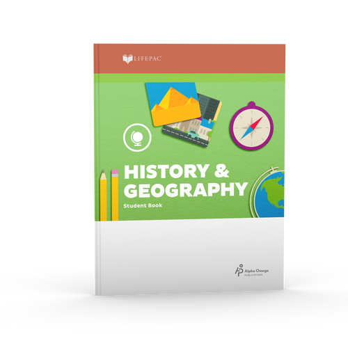 LIFEPAC 2nd Grade History & Geography (BOOK 1 ONLY)