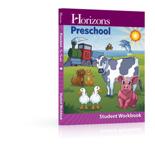 HORIZONS for Three's Student Workbook