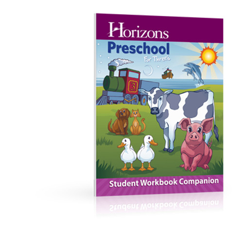 HORIZONS for Three's Student Workbook Companion