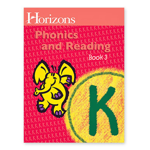 HORIZONS Kindergarten Phonics & Reading Book 3