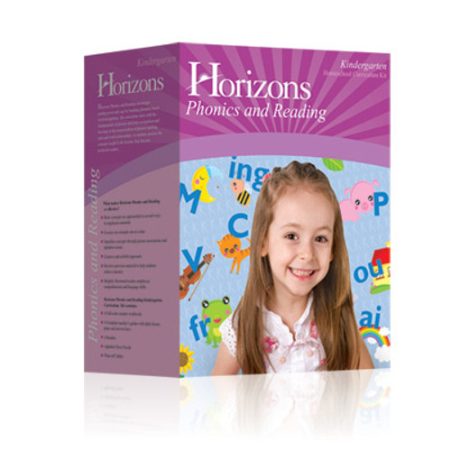 HORIZONS Kindergarten Phonics & Reading Box Set