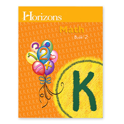 HORIZONS Kindergarten Math Student Book 2