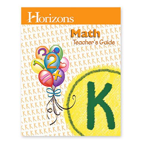 HORIZONS Kindergarten Math Teacher's Guide