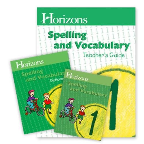 HORIZONS 1st Grade Spelling and Vocabulary Set