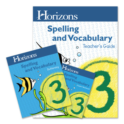 HORIZONS 3rd Grade Spelling & Vocabulary Set