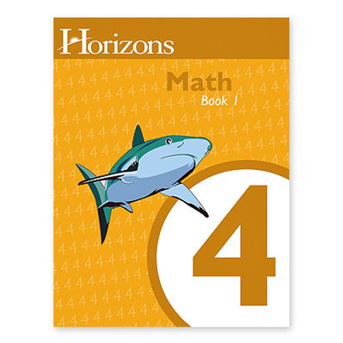 HORIZONS 4th Grade Math Student Book 1