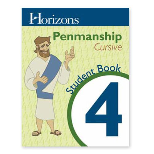HORIZONS 4th Grade Penmanship Student Workbook