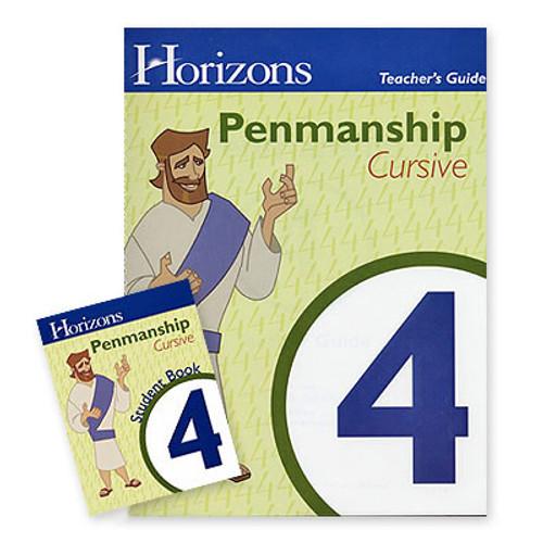 HORIZONS 4th Grade Penmanship Set