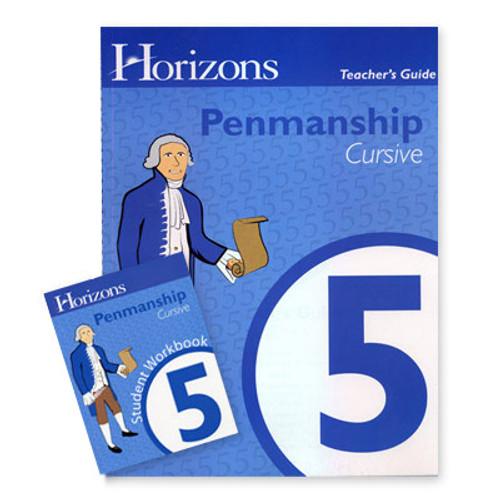 HORIZONS 5th Grade Penmanship Set