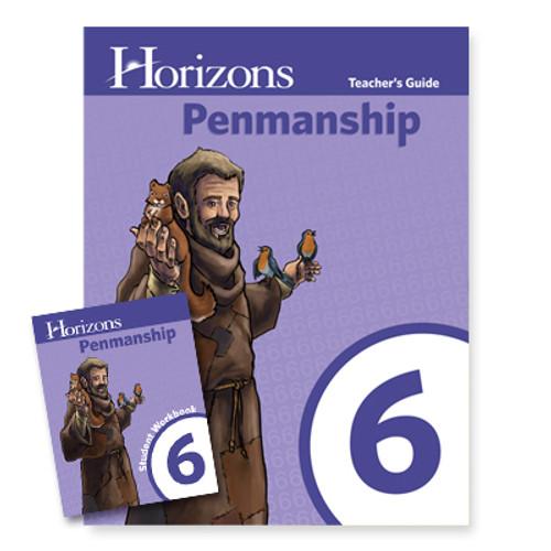 HORIZONS 6th Grade Penmanship Set