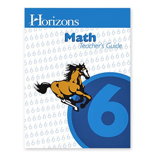 HORIZONS 6th Grade Math Teacher's Guide