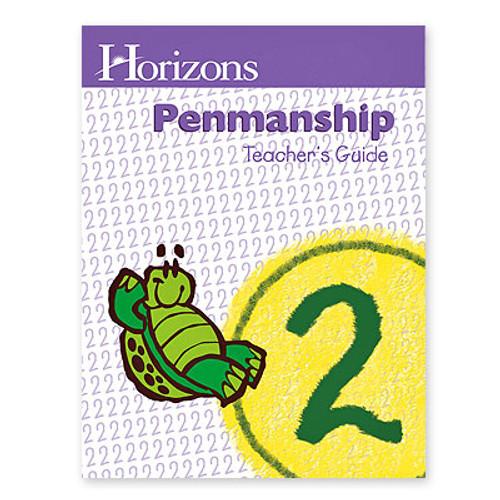 HORIZONS 2nd Grade Penmanship Teacher's Guide