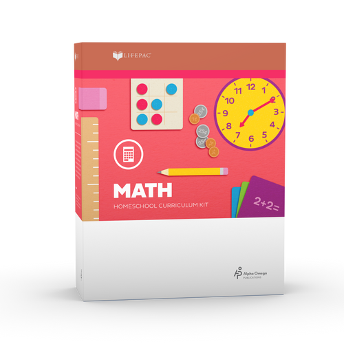 LIFEPAC Kindergarten Math Set