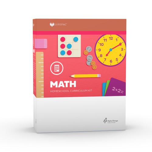 LIFEPAC 1st Grade Math Set