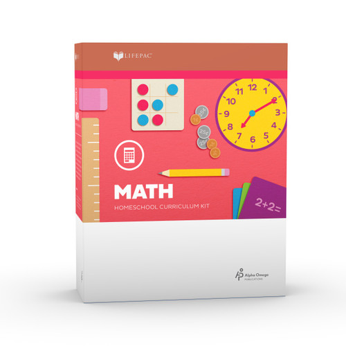 LIFEPAC 2nd Grade Math Set