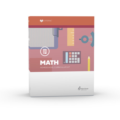LIFEPAC 3rd Grade Math Set