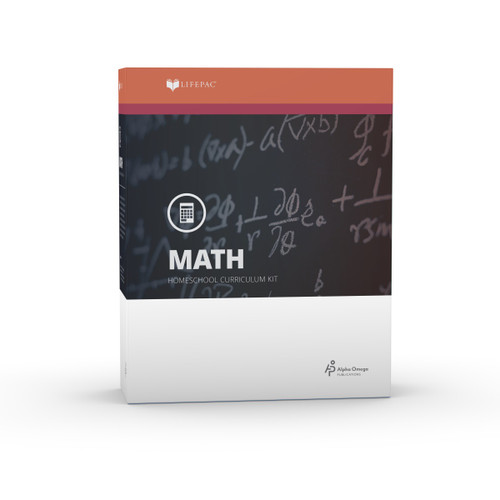 LIFEPAC 8th Grade Math Set