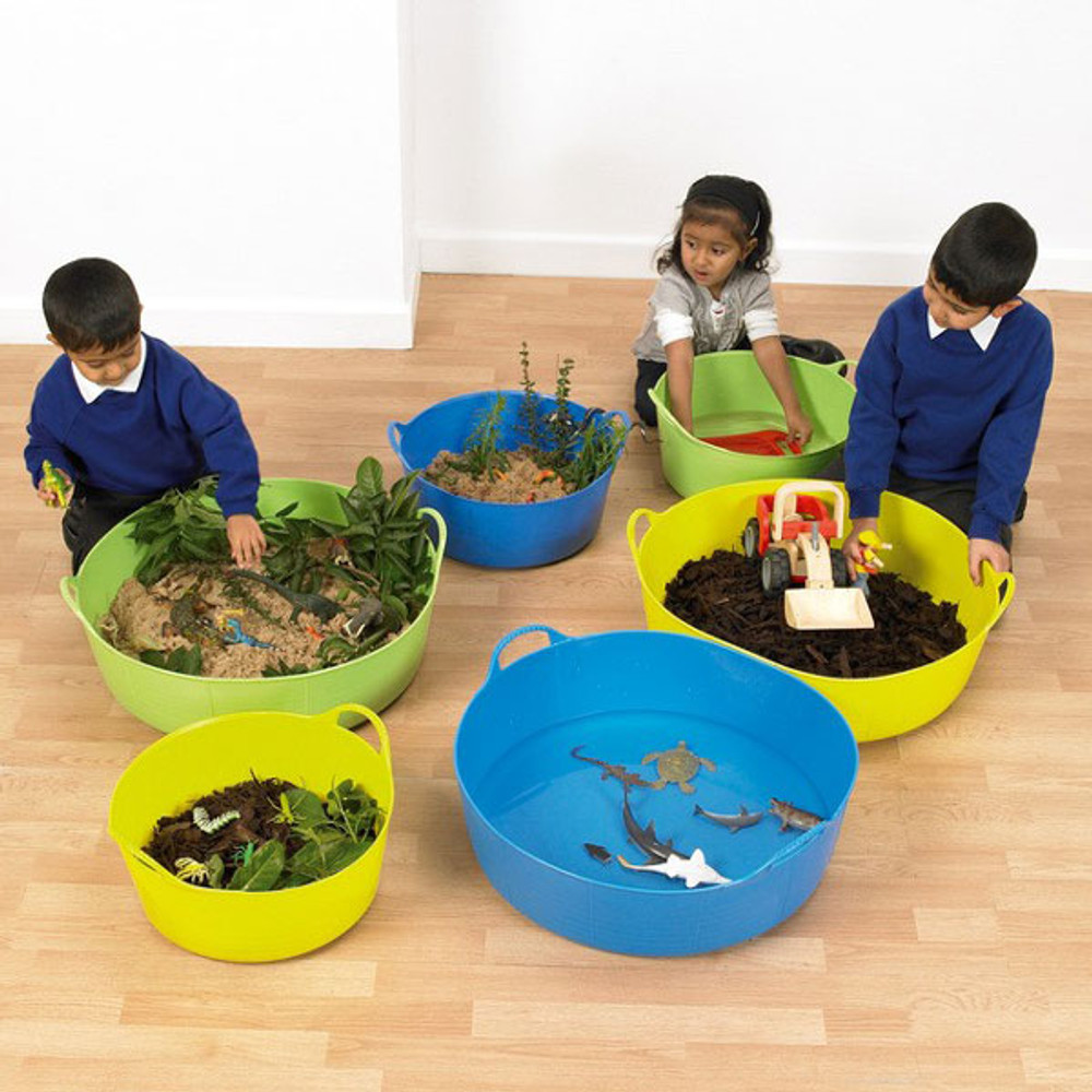 Small Shallow Tubtrugs are great for helping your kids use their imagination.