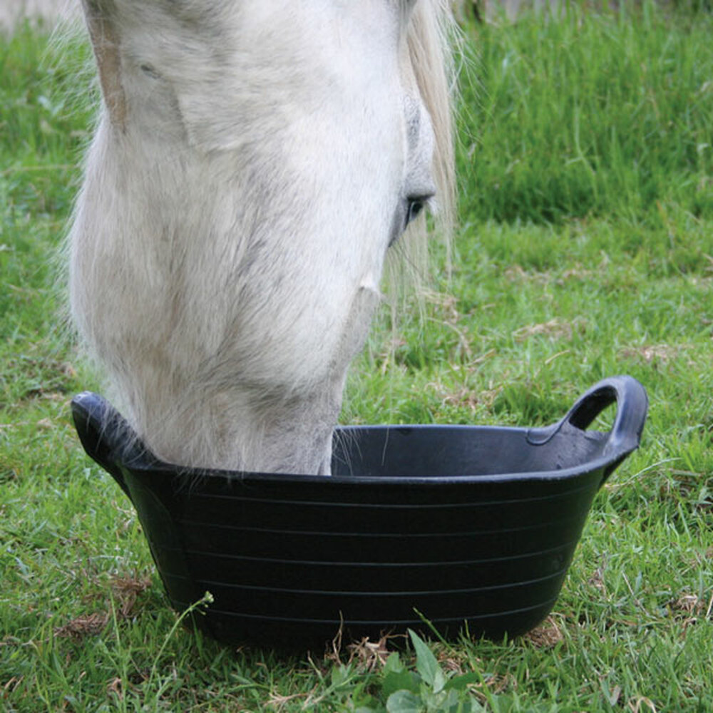 Tyre Rubber Range - Large Skip is great for horses, ponies, goats, sheep etc.