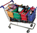 Trolley Bags Original Vibe fully packed with groceries.