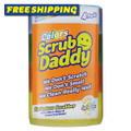 Scrub Daddy Colours 4  Pack - Includes 1 x Scrub Daddy Original, plus 3x Scrub Daddy Colors (Blue, Green & Orange)