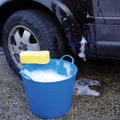 Medium Tubtrugs are the perfect bucket when washing the car.