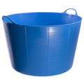 Extra Large Tubtrugs are 75L. They are food grade safe, strong, flexible and colourful.