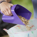 Tubtrugs Scoopour is great for scooping up feed in the stable.