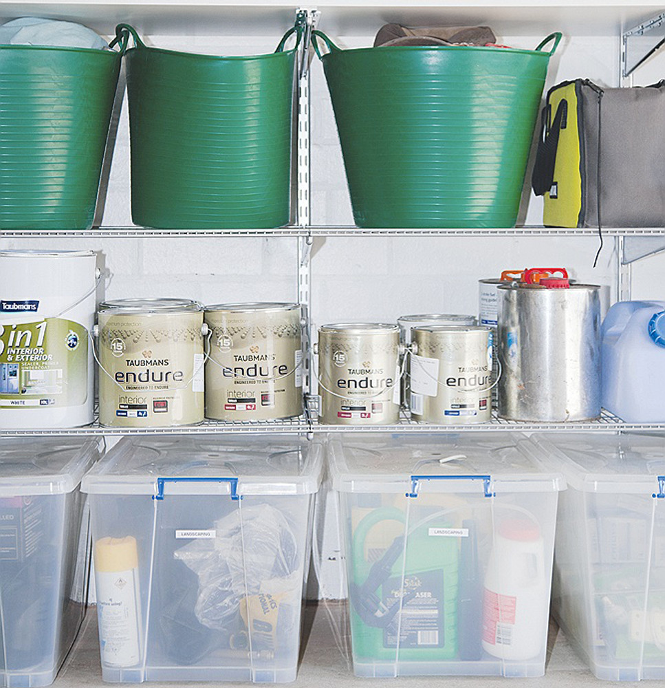 Use Tubtrugs to organise and declutter your life