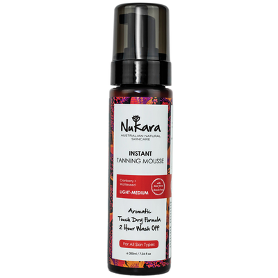Nukara Instant Tanning Mousse - Light-Medium