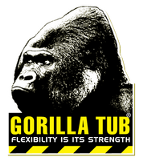 Black Gorilla Tubs – Now 100% recycled