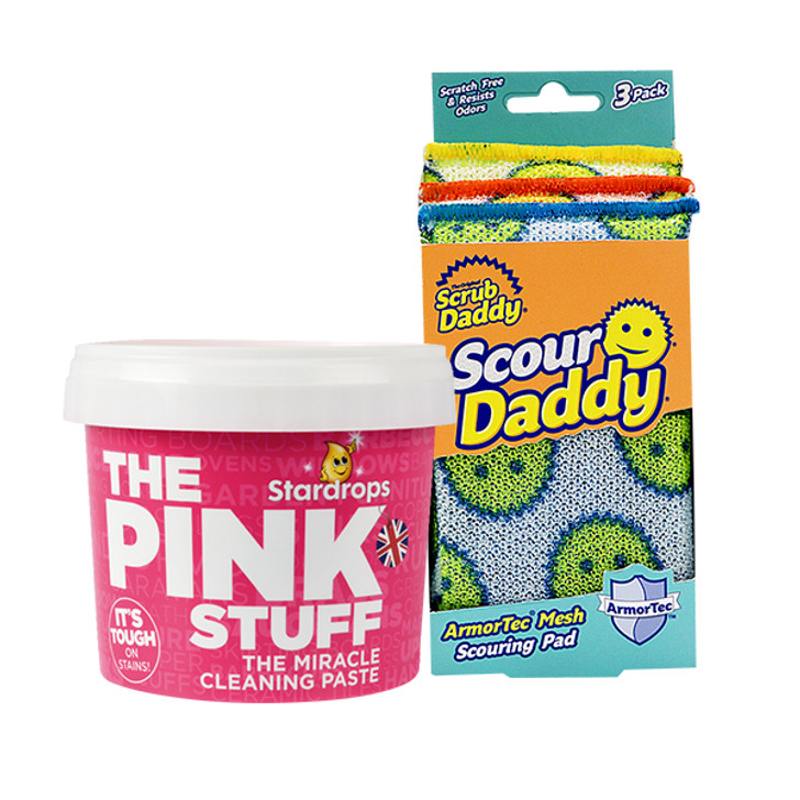 The Pink Stuff + Scour Daddy (3 Pack)