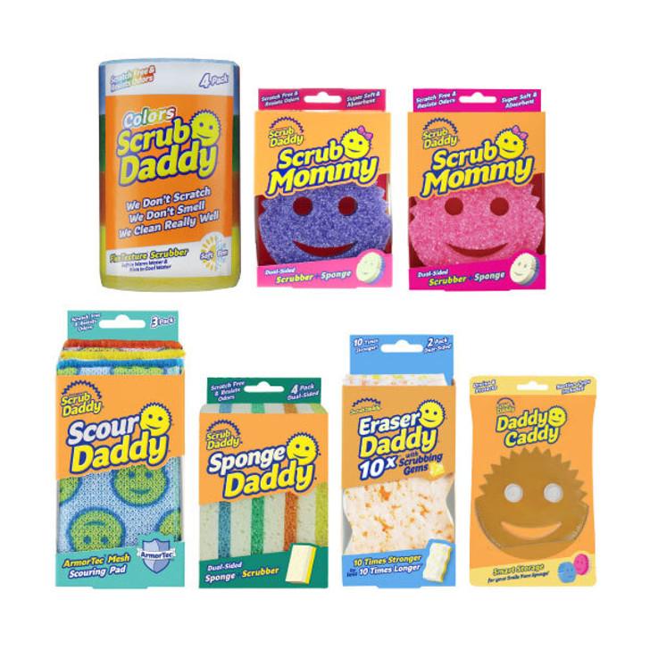 Scrub Daddy Starter Pack