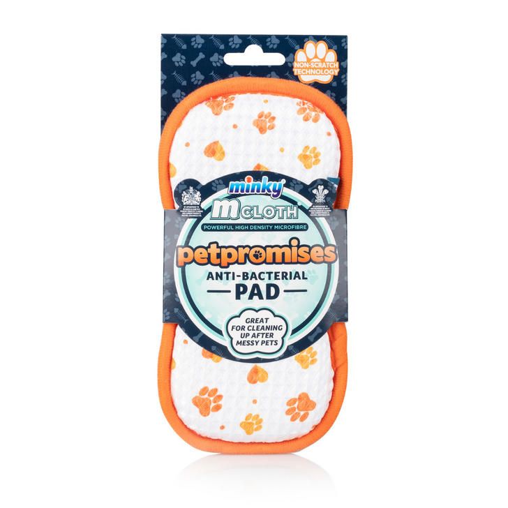 Minky M Cloth Anti-Bacterial Pet Care Cleaning Pad