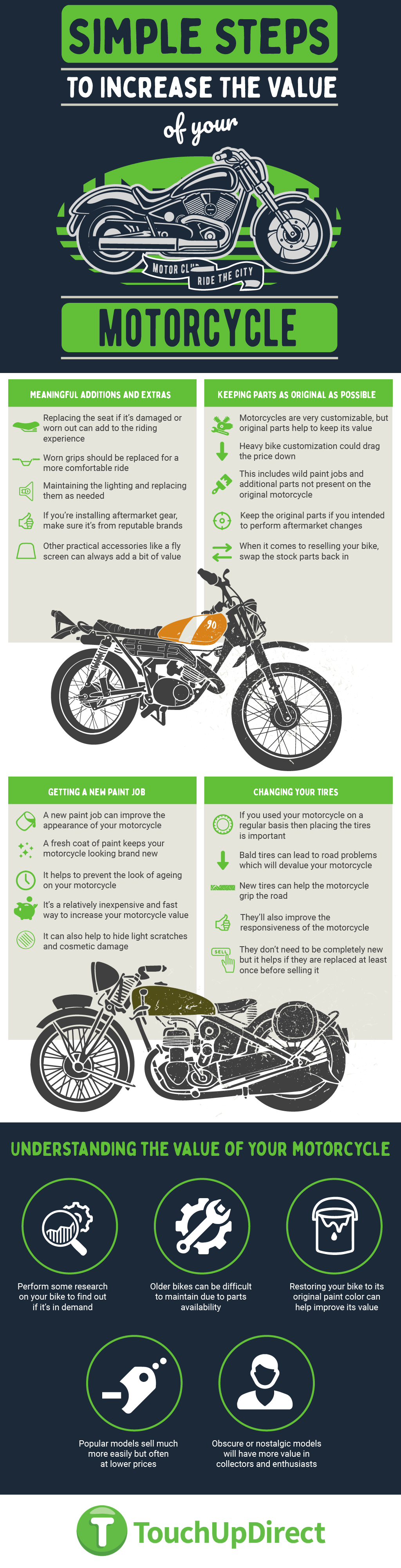 increase motorcycle value