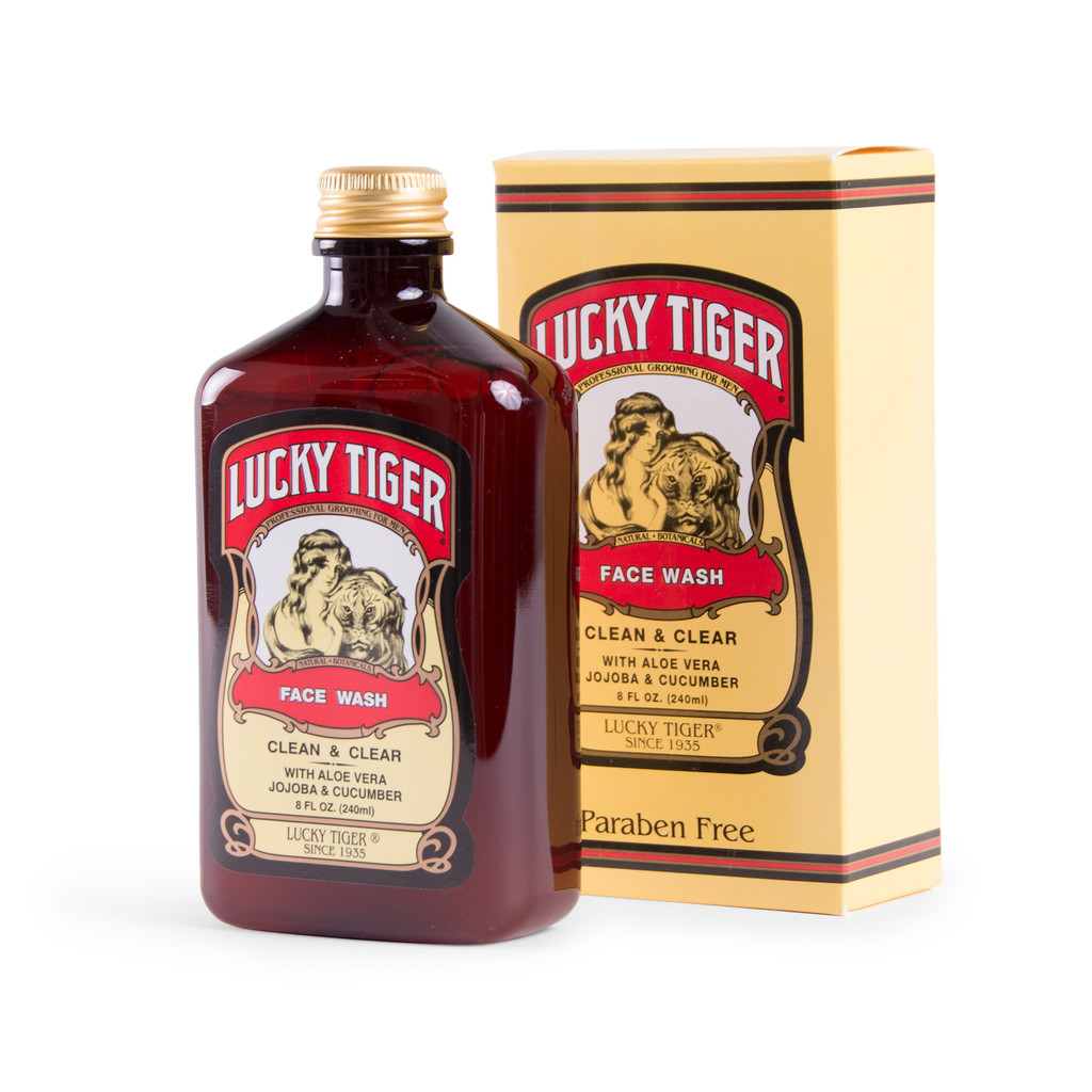 Lucky Tiger Face Wash