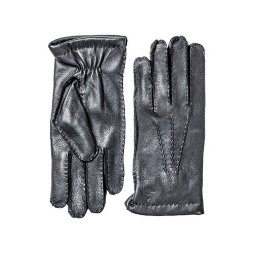 Deer Skin Gloves Black