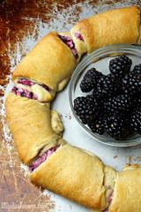 Blackberry Cream Cheese Crescent Rolls